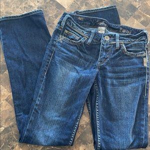 Silver Toni Jeans.
